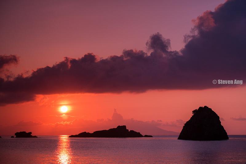 """""""Fujifilm X-E1"""" """"Fujifilm 55-200mm f/3.5-4.8"""" Landscape Shimoda Sunrise """"外浦"""" Izu"""